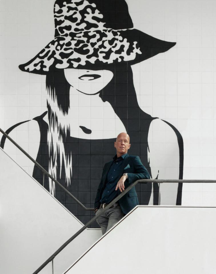 Martijn Wanrooij Portret Hello Amsterdam 2017